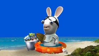 Illustration for article titled Rayman Raving Rabbids Join Forces With Capri Sun To Bravely Co-Market