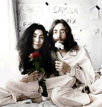 Illustration for article titled How Does Yoko Ono Feel About The Beatles Video Game?