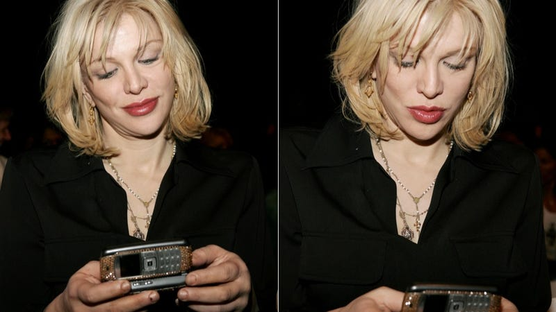 Illustration for article titled Courtney Love Left Her Phone in a Cab and a Journalist Found It
