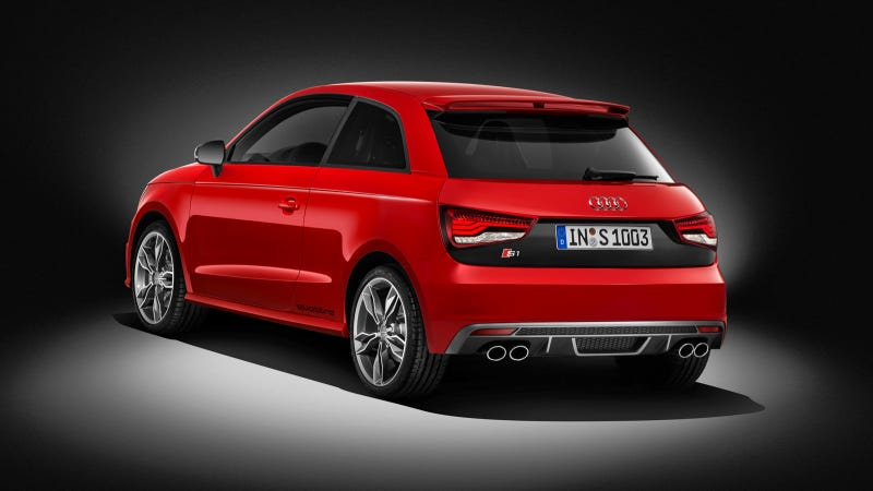 Illustration for article titled The 2015 Audi S1 Has 273 LB-FT And Will Scoot To 60 In 5.8 Seconds