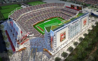 Illustration for article titled New 49ers Stadium Will Now Cost $1.2 Billion Thanks To Stuff That Doesn't Exist Yet