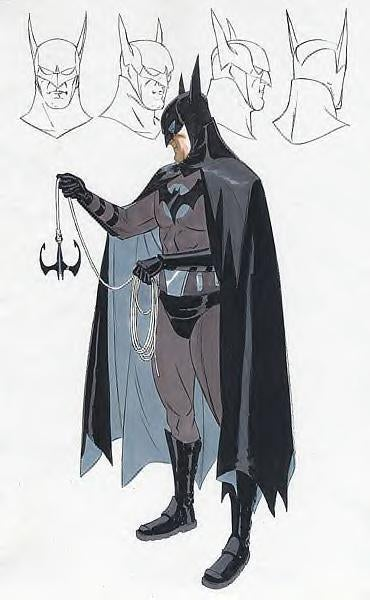 Darren Aronofsky Batman Concept Art