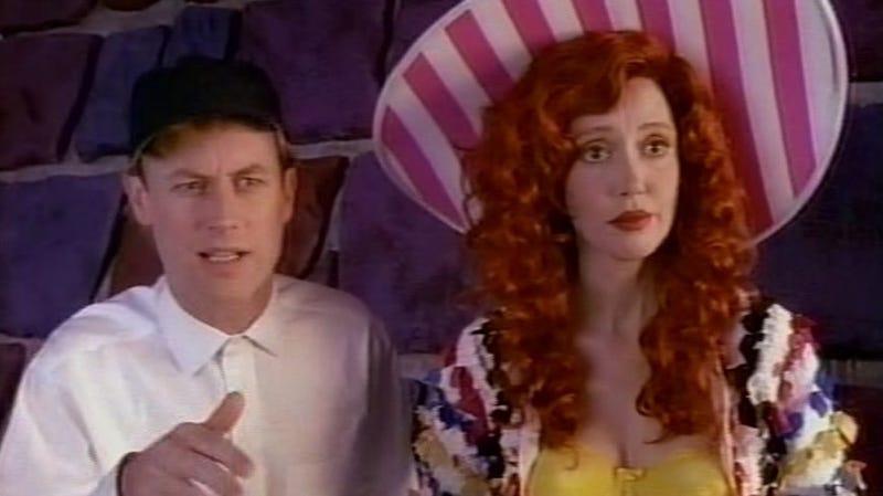 Dan Gilroy and Gordon Goose and Shelley Duval as Bo Peep.