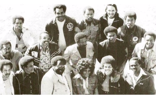 Early members of the Black Stuntmen's Association, which was formed in 1967Painted Down screenshot