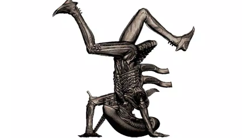 Illustration for article titled This Breakdancing Alien is the Funkiest Piece of Alien Merchandise
