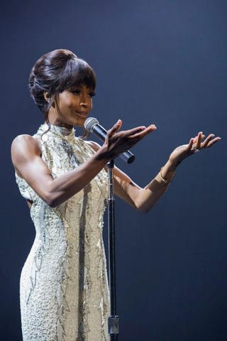 Yaya DaCosta as Whitney HoustonLifetime