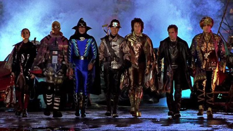 Illustration for article titled Mystery Men spoofed cinematic superheroes before their time