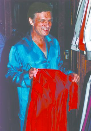 Illustration for article titled Hugh Hefner Comes Out of Retirement, Changes Pajamas, Goes Back into Retirement