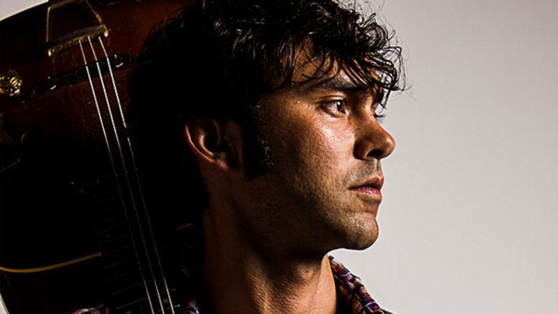 "Listen to a bluegrass-tinged track from Shakey Graves, a.k.a. Friday Night Lights' ""The Swede"""