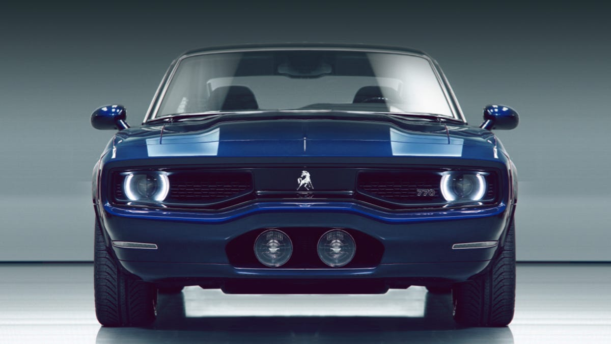 Detroit\'s Newest Muscle Car Is A Mash Up Of Every Great Muscle Car