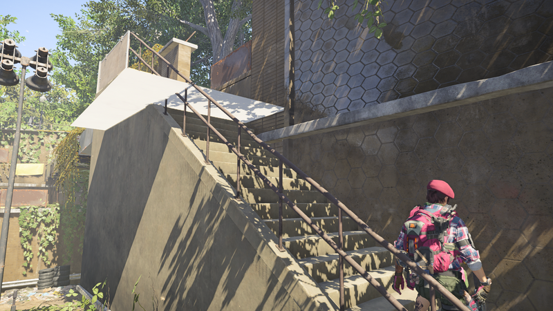 Illustration for article titled A Glitched Staircase Is Causing A Lot Of Drama In The Division 2