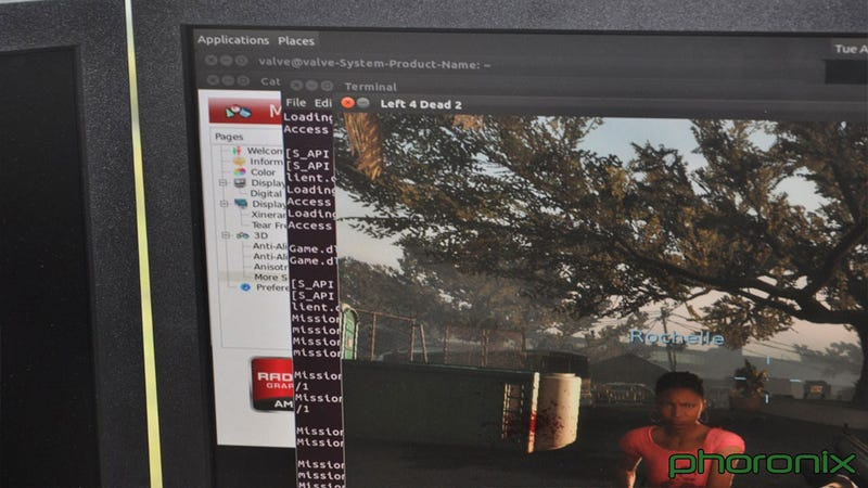 Illustration for article titled Looks Like Left 4 Dead 2 is Running Officially on Linux