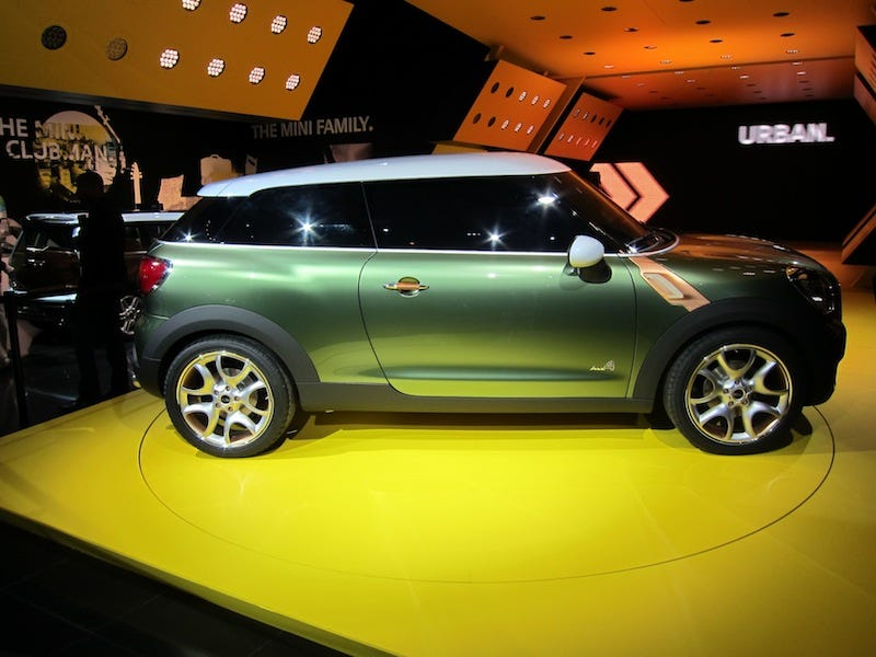 Illustration for article titled Mini Paceman Concept