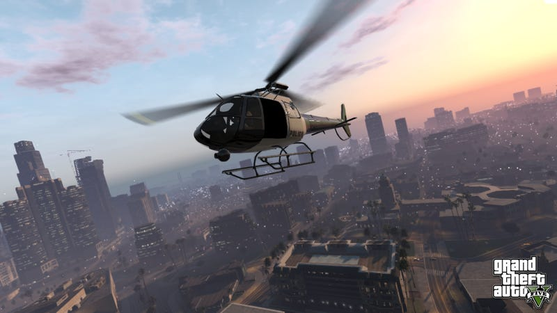 Illustration for article titled Two New Grand Theft Auto V Screenshots, And They Look Wonderful