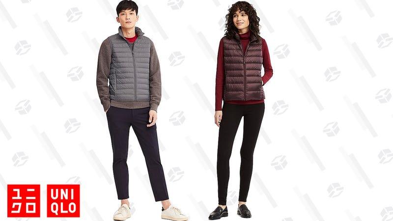 Men's Ultra Light Down Vest | $40 | UniqloWomen's Ultra Light Down Vest | $40 | Uniqlo