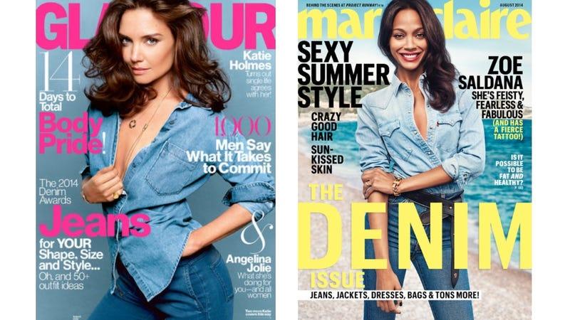Illustration for article titled Hot Trend for August: Denim on Denim