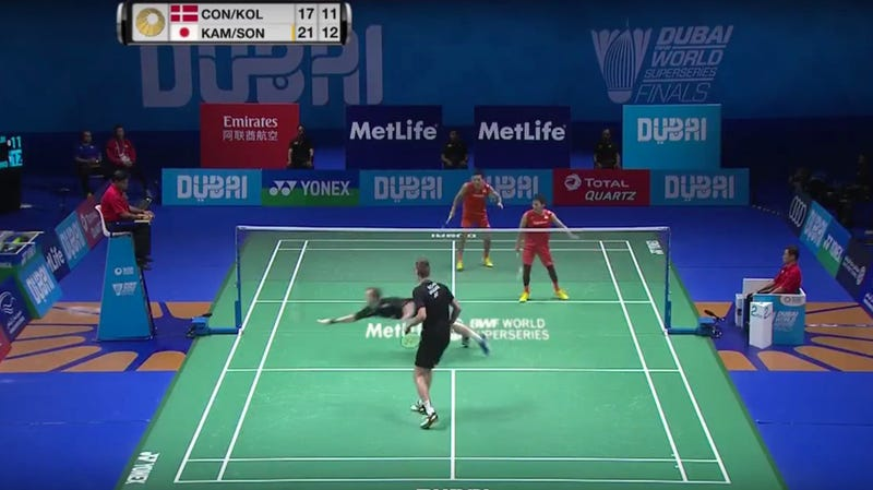 trust me this is a cool badminton highlight