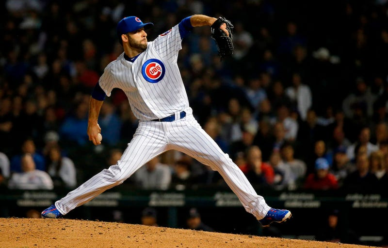 Illustration for article titled Cubs Reliever Brandon Morrow Says He Hurt Himself While Taking Off His Pants