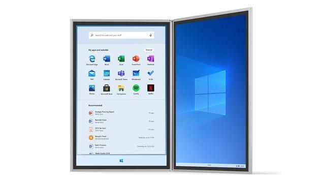 New Details on Microsoft s Dual-Screen Windows OS Leak