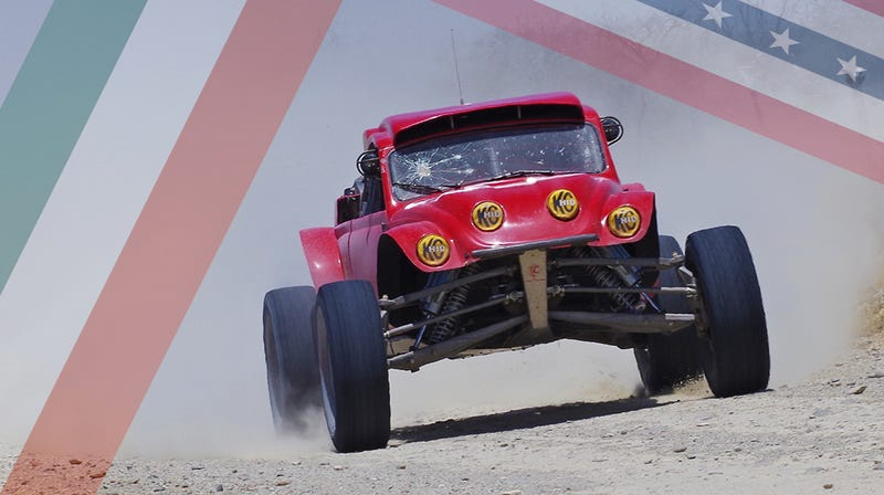 Okay this picture was taken at a NORRA event, but the car could run SCORE too (Photo Credit: Andrew Collins)