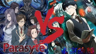 Ani-TAY Faceoff: Parasyte -the maxim- vs. Tokyo Ghoul
