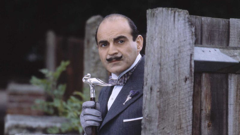 Photo: David Suchet as Hercule Poirot (Photoshot/Getty Images)