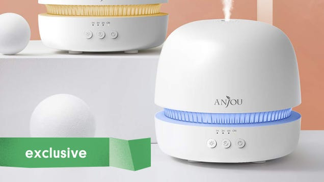 Add Some Aromatherapy To Your Routine With Almost Half Off Of This Anjou Essential Oil Diffuser [Exclusive]