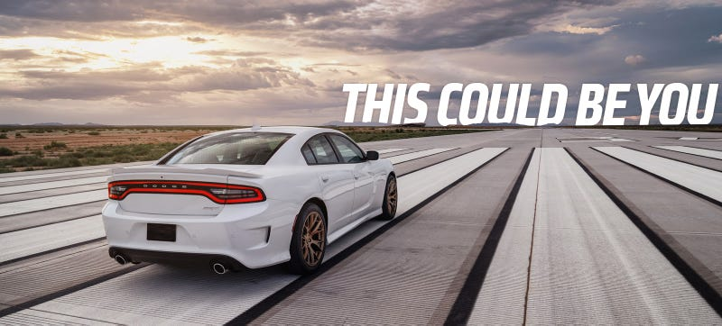 The Dodge Charger Hellcat Is The First Mass-Produced 200 MPH