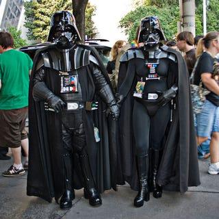 Illustration for article titled Caption Contest: Vader Love
