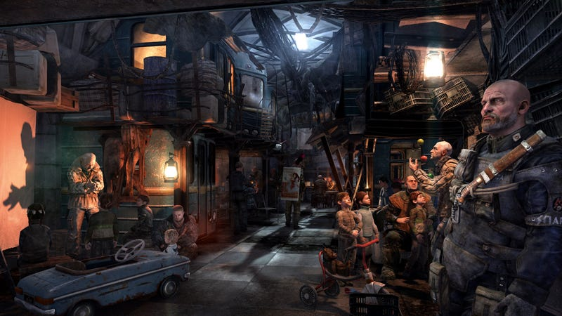 Illustration for article titled Thirteen Things You Should Know About Metro: Last Light