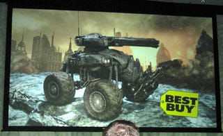 Illustration for article titled Best Buy Getting Gears 2 Pre-order RC Tank