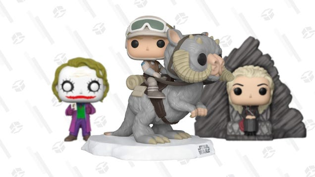 Geek out Your Desk With up to 50% off Funko Pops