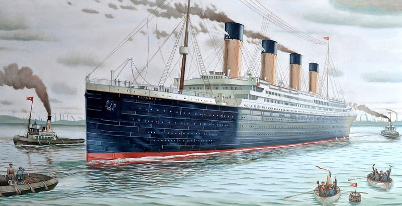 Illustration for article titled La réplica china del Titanic zarpará en el 2018, y su interior será idéntico al del original