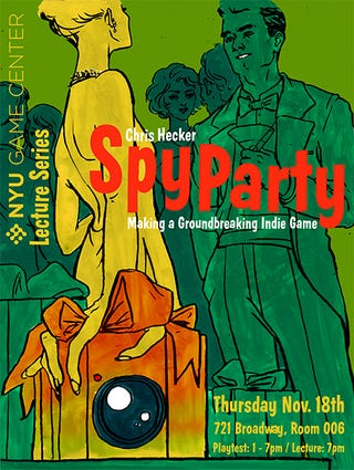 Illustration for article titled To-Do In New York: Play Spy Party On Thursday