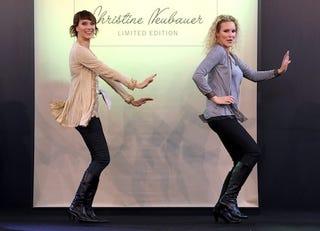 Illustration for article titled German Models Get Up, Down, Funky, Loose