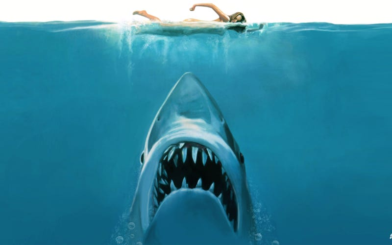 Illustration for article titled When It First Came Out, Jaws Got Savaged By the L.A. Times