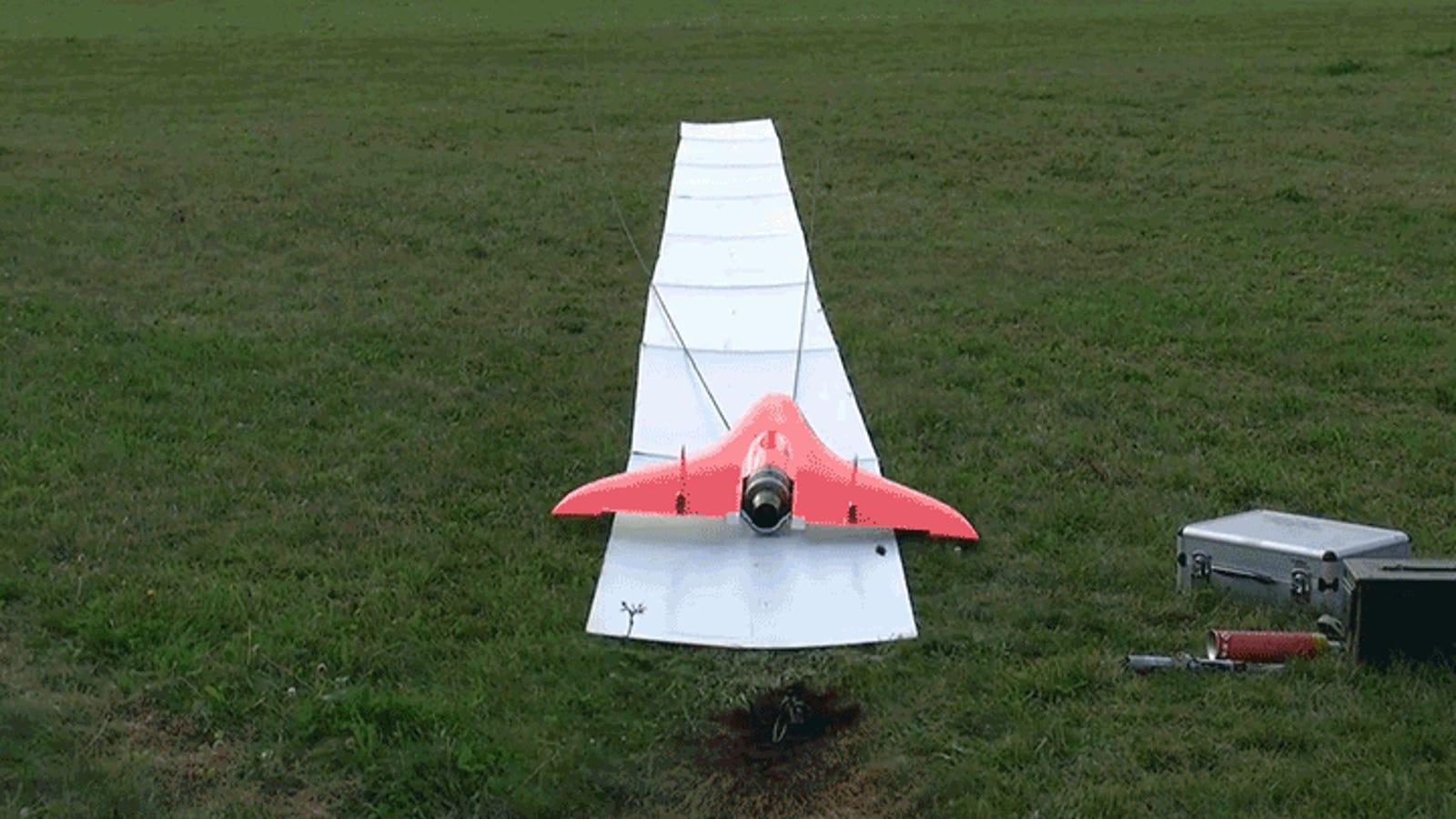 How Do You Even Pilot a 450 MPH RC Plane?