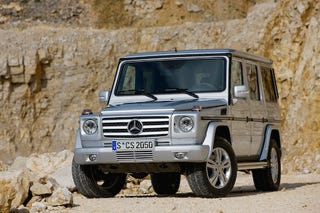 Illustration for article titled 2009 Mercedes G-Class Gets A Lot More Power, Not A Lot Else