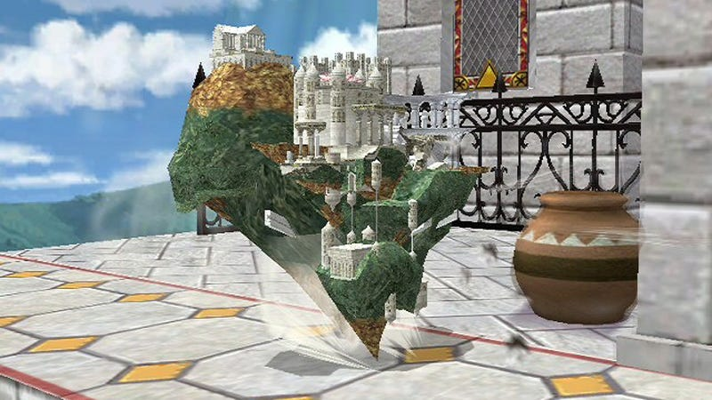 Illustration for article titled Someone Made Hyrule Temple Playable In Smash Bros.