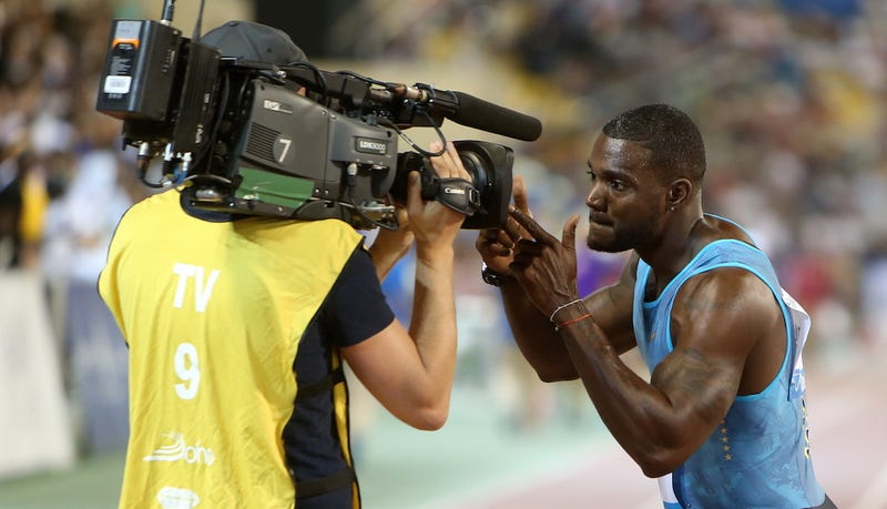 "Illustration for article titled Why Was Justin Gatlin ""Kicked Out"" Of Beijing?"