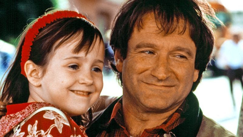 Illustration for article titled Read This: Mara Wilson remembers Robin Williams