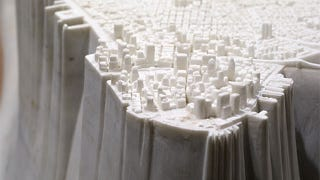 Illustration for article titled Manhattan In White Marble