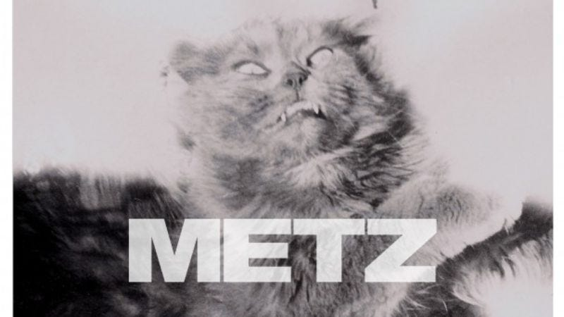 "Illustration for article titled Listen to a noisy new Metz track, ""Dirty Shirt"""