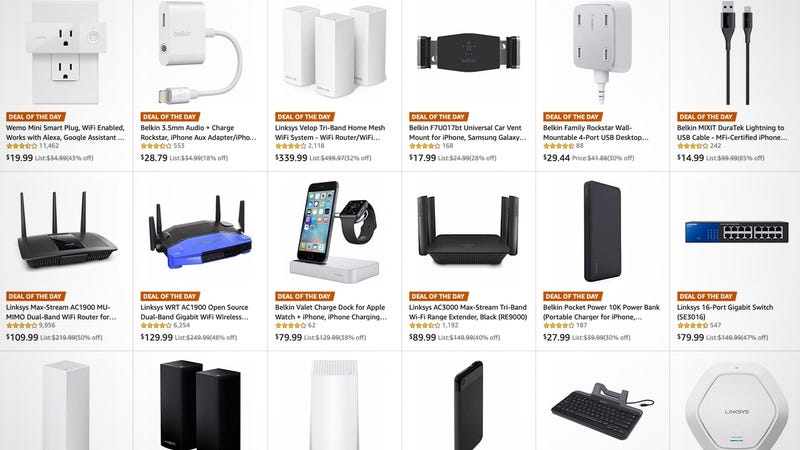 Amazon's One-Day Tech Sale Is Full of Networking Gear and Gadgets