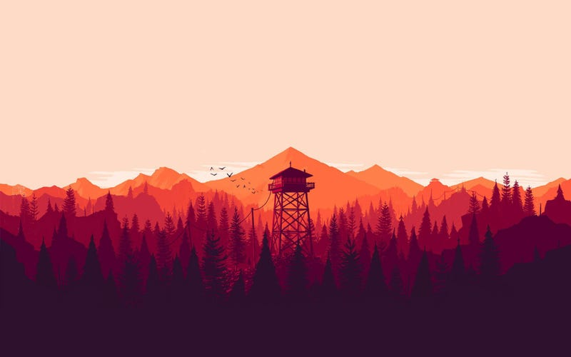 Illustration for article titled [IT'S OVER] TAY Plays: Firewatch - I've always wanted to go to Wyoming