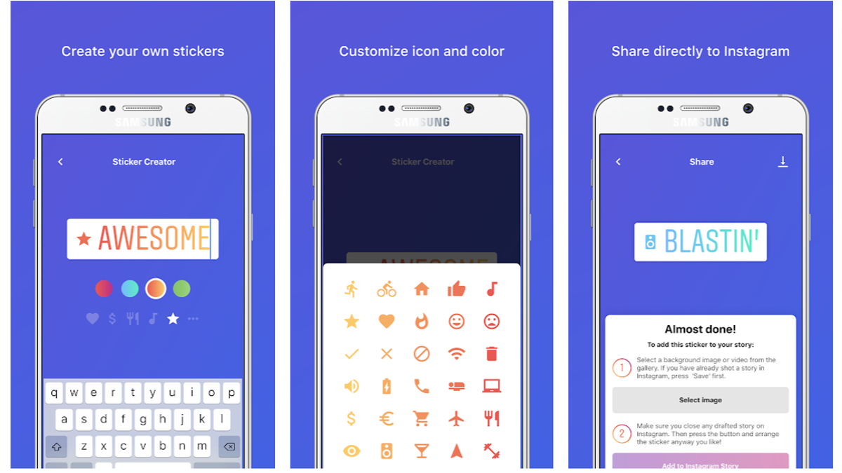 Create Custom Stickers for Instagram Stories With This App