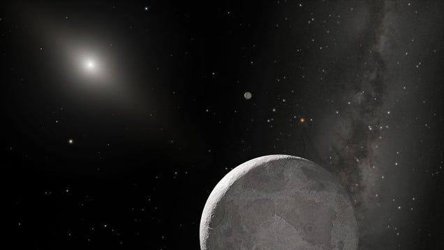 Meet Eris, The Solar System's Largest Dwarf Planet