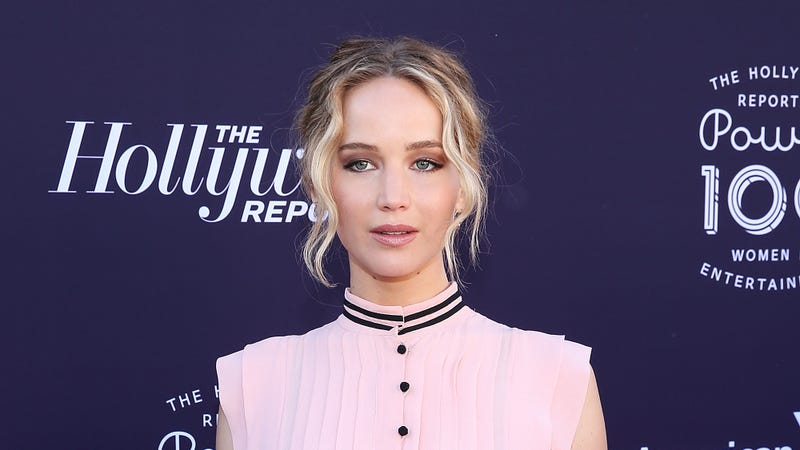 Jennifer Lawrence, one victim of the 2014 hacking / Image via Getty