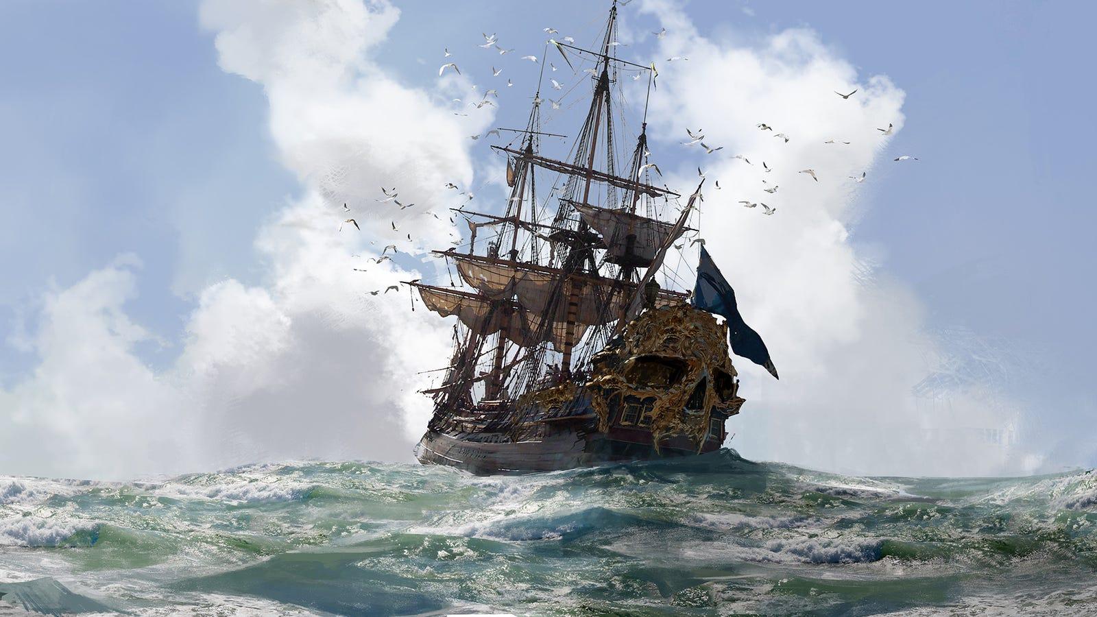 Skull & Bones' Pirate Art Is Excellent