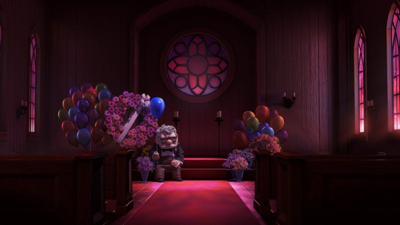 Illustration for article titled Cómo Pixar manipula nuestras emociones poniendo música alegre en escenas tristes